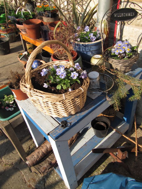 Garten in Maisbach im April 2012: Urban Gardening