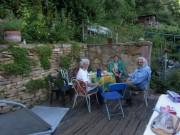 Am Hirzberg 13.7.2012 - Kaffee trinken
