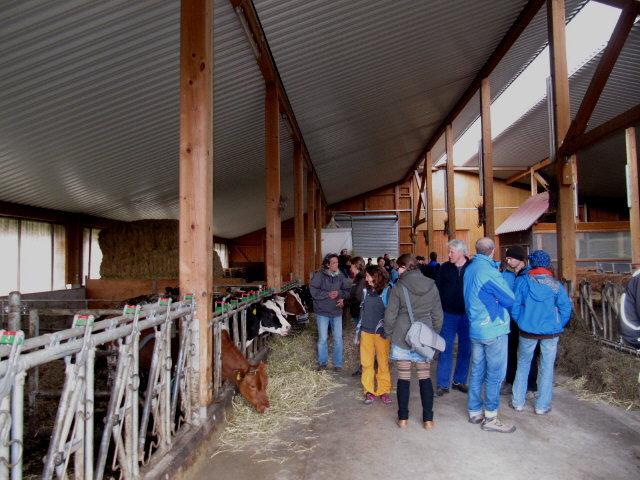 Küferhof am 21.4.2012: Besuch vom Kunzenhof