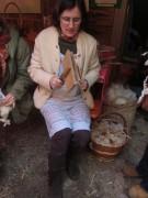Kunzenhof 21-4-2012 - Wolle verarbeiten mit Gabriela Martin