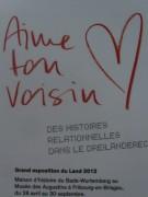 Aime ton voisin - Liebe Deinen Nachbarn: Sandfang 5.5.2012