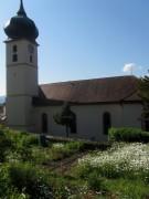 Garten an der Kirche FR-Ebnet am 27.5.2012: Blick nach Südosten
