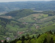 Tele-Blick nach Norden ins Foehrental am 1.5.2012