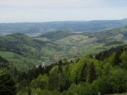 Blick nach Norden ins Foehrental und ins Glottertal (hinten) am 1.5.2012