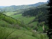 Blick nach Norden ins Foehrental am 1.5.2012