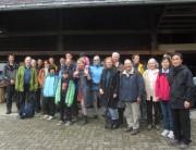 Hanisenhof 5.5.2012: ecotrinova-Besuchergruppe mit Dr. Loeser (2.v.l.)