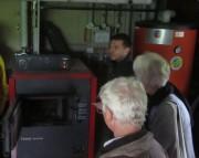 Hanisenhof am 5.5.2012: Stückholzheizer mit Brauchwasserspeicher