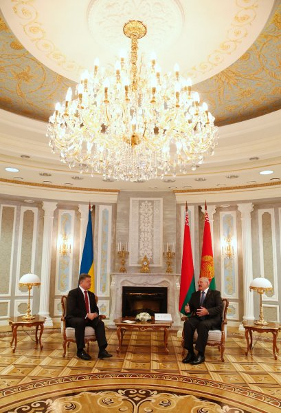 Alexander Lukashenko, Petro Poroshenko