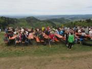 Streckereck am 1.5.2012: Blick nach Nordwesten ins Rheintal