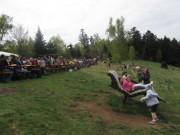 Streckereck am 1.5.2012: Blick nach Westen