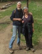 Streckereck am 1.5.2012: Zwei Wanderer