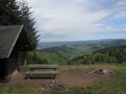 Streckereck am 1.5.2012: Grillhuette - Blick nach Norden