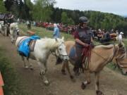 Streckereck am 1.5.2012: Reiter aus dem Bildtal kommen an