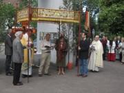 Fronleichnam FR-Littenweiler 10.6.2012: Fronleichnam FR-Littenweiler 10.6.2012: Pfarrer Kienzler und Bernd Ebbmeyer