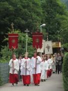 Fronleichnam FR-Littenweiler 10.6.2012: Am Ebneter Weg