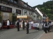 Fronleichnamsprozession Glottertal 7.6.2012: Zweiter Altar
