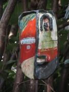 Maske im Garten am 28.6.2012