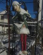 Tänzerin im Schnee am 12.12.2012