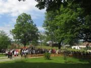 Fronleichnamsprozession St.Peter 7.6.2012 - beim Altar am Schweighof