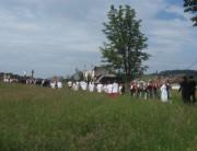 Fronleichnamsprozession St.Peter 7.6.2012 - Blick nach Westen