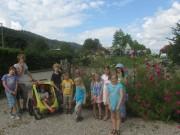 Sommerblumenkurs der Reinhold-Schneider-Schule mit Carpe-Florem.de am 3.8.2012