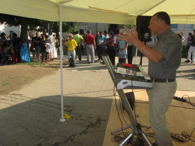 Flüchtlingswohnheim 14.7.2012 - Stadtrat Walter Krögner