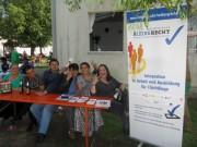 Flüchtlingswohnheim 14.7.2012 - Bleiberecht