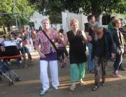 Flüchtlingswohnheim 14.7.2012 - Alle tanzen mit