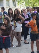 Flüchtlingswohnheim 14.7.2012 - Sehen und gesehen werden
