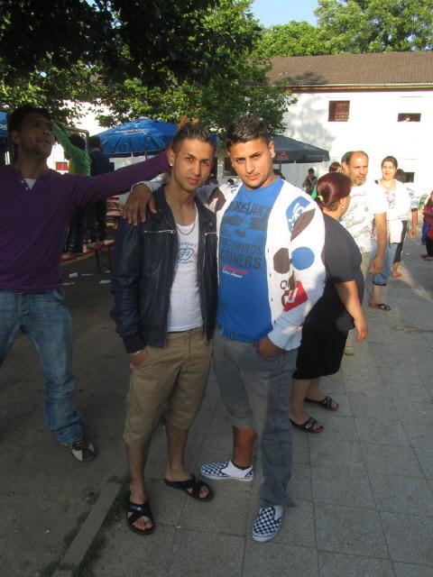 Flüchtlingswohnheim 14.7.2012 - Jugend