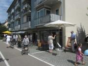 Ladenzeile Heinrich-Heine-Strasse am 7.7.2012