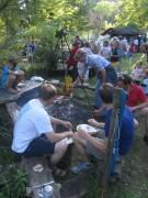 Kartaus Fest 22.7.2012:  (42) Am Lagerfeuer