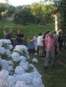 Kartaus Fest 22.7.2012: (45) Abends am Gartenfest-Buffet