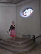 Kartaus 22.7.2012: Geomantin Rafaela Schüle - Der Pfarrer kam aus der Erde in die Kirche hoch