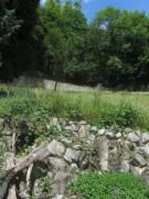Kartaus 22.7.2012: (23) Der mittlere Wasserstollen im Garten - Blick nach Norden