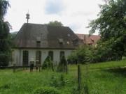 Kartaus am 22.7.2012: Blick nach Süden zur Klosterkirche