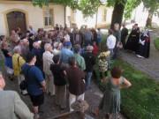 Kartaus 22.7.2012: Blick nach Süden im Innenhof