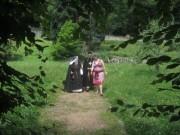 Kartaus am 22.7.2012: (30) Blick nach Norden im Kartausgarten