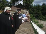 Kartaus am 22.7.2012: (33) An der Mauer zum Klostergarten