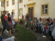 Kartaus 22.7.2012: Frank Löbbecke, Rafaela Schüle und Joachim Scheck