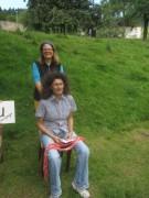 Kartaus Fest 22.7.2012: Shiatsu mit Katja auf der Wiese