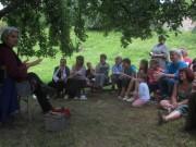 Kartaus Fest 22.7.2012: Ursula Bertsch erzählt Märchen