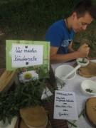 Kartaus Fest 22.7.2012: (7) Kräutersalz und Rosenzucker