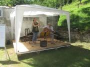Kartaus Fest 22.7.2012: (14) Fadelei spielt auf