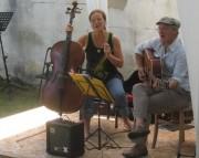 Kartaus Fest 22.7.2012: (55) Fadelei spielt - Heike und Didier