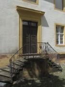 Kartaus 22.7.2012: Wunderschöne Treppe an der Westseite des Innenhofs - einladend, sagt die Geomantin