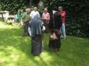 Kartaus Fest 22.7.2012: (23) Gartengespräch