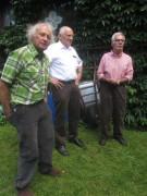 """Kartaus Fest 22.7.2012: (25) Roland Schüle vor """"seinem"""" Haus"""