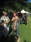 Kartaus Fest 22.7.2012: (26) Eva-Maria Schüle und Ursula Bühning von der Heilpflanzenschule