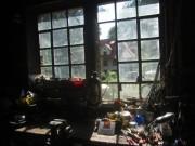Kartaus Fest 22.7.2012: Blick aus dem Fenster vom Wasserschlössle zum ehem. Wirtshaus